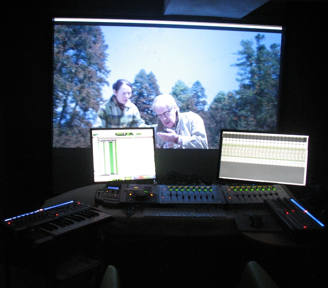 The Osler Studio - sound editing on Flight of the Butterflies.